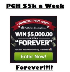 Enter to Win Publishers Clearing House Sweepstakes