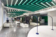 superfuture :: supernews :: st. petersburg: au pont rouge store  renewal © architecture at large / photography: alexey bogolepov