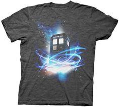 "Doctor Who ""Tardis In Space"" Men's Shirt"