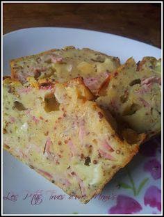 Les P'tits Trucs d'une Mam's: Cake brie-moutarde-jambon