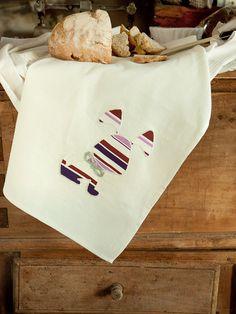 strofinaccio regalo_canovaccio con cane_idea regalo festa della mamma_rustic dish clothes_gift for pet lover_dog tea towel and cat tea towel/hemp tea towel by artericamihome on Etsy