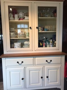 Kitchen Dressers Oak Solid Wood and White Dressers The