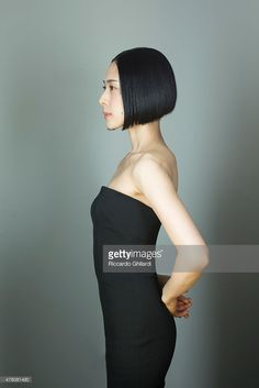 Actress Eri Fukatsu is photographed for Self Assignment on May, 2015 in Cannes, France. Japanese Beauty, Asian Beauty, Short Bob Haircuts, Japanese Models, Girl Blog, Portrait, Beautiful Actresses, Pretty Woman, Short Hair Styles