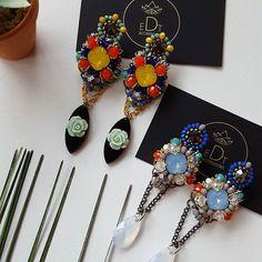 #earrings #earringfashion #handmadejewelry #jewelry #handmade #jewelrydesign #jewellery #jewels #accessories #edtaccessories #style #design #fashion #stone #swarovskicrystals #swarovski #summer #color