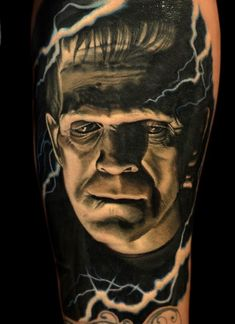 #frankenstein #tattoos #frankensteintattoo