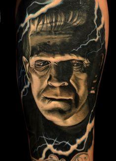 #frankenstein #tattoos #frankensteintattoo