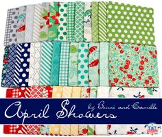 April Showers by Bonnie & Camille for Moda Fabrics - shop this playful collection!