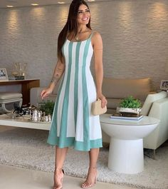 11 Best Summer Dress Fashions - 1 This summer is the most fashionable dresses. These fashion dresses will suit you very well. Casual Dresses, Short Dresses, Fashion Dresses, Dress Skirt, Dress Up, Best Summer Dresses, Most Beautiful Dresses, Vestido Casual, Look Chic