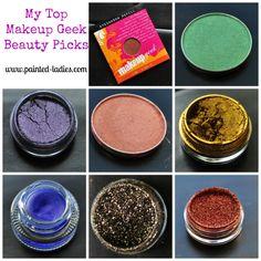 A list of Makeup Geek favorites by #paintedladies