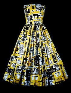 We love the famous artists' prints in the Fashion and Textile Museum exhibition - perfect inspiration for spring