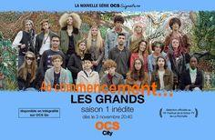les grandsOn a vu les 1er épisode des #Grands qui sera présenté au Festival de la Fiction TV de la Rochelle! Verdict! fftv 2016 Affiche au commencement cliff and co