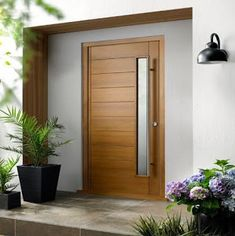 Modern Gate Design 2019 Chairs Door Design Exterior Door Manufacturers Post And Rail Fencing With External Doors Home Improvement Cast Now 2018 Front Door Rugs, Oak Front Door, Wooden Front Doors, Painted Front Doors, Front Door Design, Gate Design, Modern Wooden Doors, Contemporary Front Doors, External Timber Doors