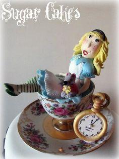 """Alice in Wonderland"" by www.sugarcakes.co.za"