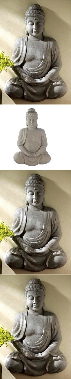 Wall Sculptures 166729: Peace Serenity Wow ** 27 Peaceful Buddha Sculpture Wall Decor ** Nib -> BUY IT NOW ONLY: $59.95 on eBay!