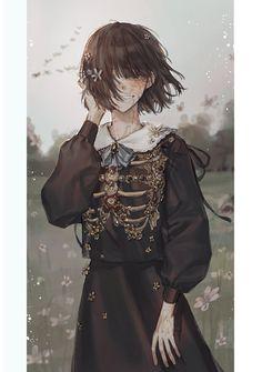 Sad Anime Girl, Manga Girl, Anime Art Girl, Anime Girl Drawings, Anime Artwork, Character Art, Character Design, Stray Dogs Anime, Sad Art