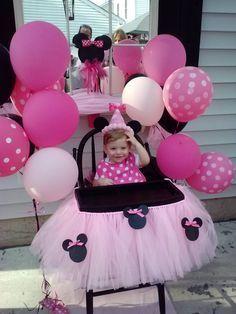 Minnie Mouse, 1st birthday party...... @Jose N Tamara Wood-Rodriguez