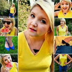 Fruity colourful  post on the blog!  This time summer shorts! Check this out on lowczynieokazjiwszelakich.blogspot.com  #blog #bloggers #fashioninspiration #fashionblogs #plussize #normalsize #secondhand #cheapclothes #cheapfashion #newpost #ontheblog #lovefashion #summer #summershorts