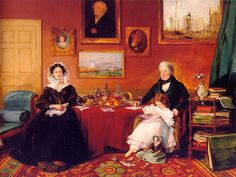 The Langford Family in their Drawing Room James Holland