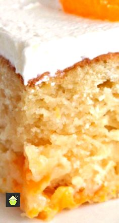 Mandarin Cake. This is a delicious soft and moist cake with juicy mandarins running throughout