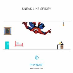 Just to avoid any last minute surprise for Aunt May, our super smart tech savvy SpiderMan uses Phynart app to open the curtains, turn on the lights, switch on the AC while he sneaks in the house late night. Spider Man is smart - Be like him.  Check more info on - www.phynart.com #SpiderMan #HomeComing #SpiderMan2017 #SneakIn #Phynart #Automation #SmartHome #HomeSweetHome #Home #IoT #InternetOfThings #AI #ArtificialIntelligence #Technology #FutureIsHere⁠⁠⁠⁠