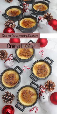 Dieses Crème brûlée Rezept ist so köstlich, cremig und das perfekteste französische Dessert. Hergestellt aus 5 Grundzutaten, leicht im Voraus zubereitet und absolut lecker, eure Familie, Freunde und Gäste werden dieses Crème brûlée lieben. #Crèmebrûlée #CrèmebrûléeRezepte #einfach #schnell #deutsch #dessert #nachtisch #weihnachten #geburtstag #ostern #muttertag #sonntagsistkaffeezeit Cupcakes, Breakfast, Food, Necklaces, Cooking, French Desserts, Morning Coffee, Cupcake Cakes, Essen