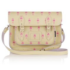 Zatchel Flamingo Print Bag £120 available exclusively from Oliver Bonas