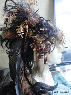 Priestess headdress and wig