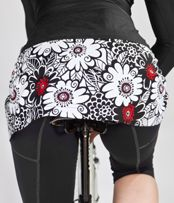 I ♥ Sweet Spot Skirts! They are long enough to cover, yet short enough to stay out of the way!