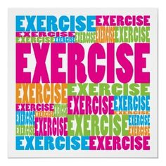 Exercise❤❤