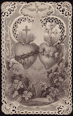 Hearts of Jesus and Mary