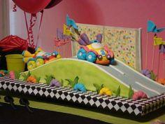 Racecar on Road #cake