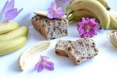 Recette de banana bread sans sucre et sans beurre, sans lactose, sans matières grasses. Recette bananabread moelleux et healthy idée gouter