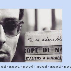 Jean Luc Godard Marie Claire, Jean Luc Godard, Mood, Instagram, Black N White