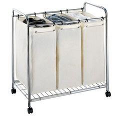 Neu Home 3-Section Laundry Sorter $69.99