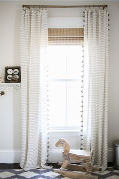 Little Boy Bedroom Sets Catalogue: Catchiest Ninja Turtle Furniture Nursery decor ideas – striped bedroom curtains, neutral wall color, rocking horse, and a bold [. Boys Bedroom Sets, Trendy Bedroom, Kids Bedroom, Baby Bedroom, Room Baby, Shared Bedrooms, Living Room Decor, Bedroom Decor, Nursery Decor