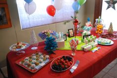 A Charlie Brown Christmas Themed 1st Birthday Party : What a great idea for a December birthday!