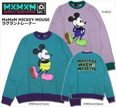 【MxMXM】MAGICAL MOSH MISFITS(マジカル モッシュ ミスフィッツ)/MxMxM MICKEY MOUSE ラグラントレーナー【楽天市場】