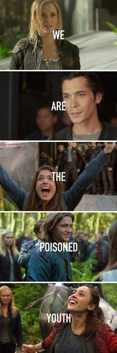 the poisoned youth #the100