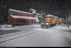 RailPictures.Net Photo: NECR 721 New England Central EMD SD40-2 at Randolph, Vermont by Gary Knapp