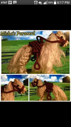 Paracord Horse