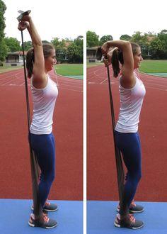 Trizeps-Übung mit Extensionsband | Ganzkörper-Workout