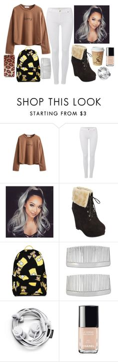 """""""Habits"""" by maddysleepy ❤ liked on Polyvore featuring 7 For All Mankind, Joyrich, John Lewis, Chanel, women's clothing, women's fashion, women, female, woman and misses"""