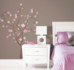 RoomMates Spring Blossom Peel & Stick Giant Wall Decal $20