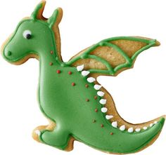 Dragon Cookie Cutter Size: tall x wide, with a cutting depth of Material: Stainless Steel Venture into the dragon's lair and you'll find a treasure trove of goodies. Our dragon cookie cutter will get everyone fired up and ready to pounce. Dragon Birthday Parties, Dragon Party, 2nd Birthday, Dinosaur Cookies, Dinosaur Party, Galletas Cookies, Sugar Cookies, Dragon Baby Shower, Dragon Cookies