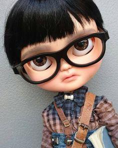 Guarda questo articolo nel mio negozio Etsy https://www.etsy.com/listing/465939774/yoshi-ooak-customized-icy-doll-by
