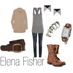 """Elena Fisher"" by ja-vy on Polyvore"