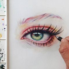 WANT A FEATURE ?   CLICK LINK IN MY PROFILE !!!    Tag  #LADYTEREZIE   Repost from @ronaldrestituyo   3 hours Eye painting  Process image on my Story #ronaldrestituyo #art via http://instagram.com/ladyterezie