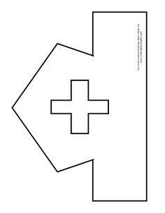 Printable Nurse Hat Template Fun Learning Printables for Kids Hat Template, Templates, Community Helpers Crafts, Nurse Crafts, People Who Help Us, Community Workers, Nurse Art, Hat Crafts, Preschool Activities