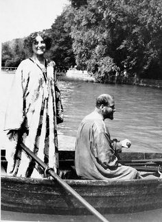 Emilie Louise Flöge (30 August 1874 in Vienna – 26 May 1952 in Vienna) was an Austrian designer, fashion designer, and businesswoman. She was the life companion of the painter Gustav Klimt.