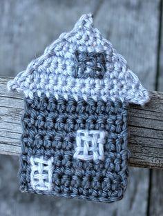 Hilde haakt: (ver)huisjes haken #crochet #house